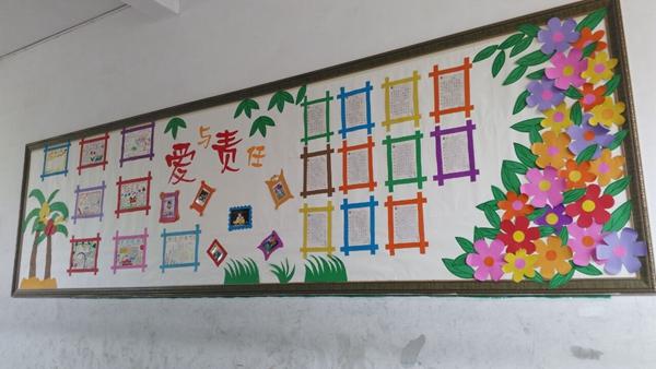 """宿州砀城小学生用心打造""""文化墙磁场"""" 用行动树立新风尚"""